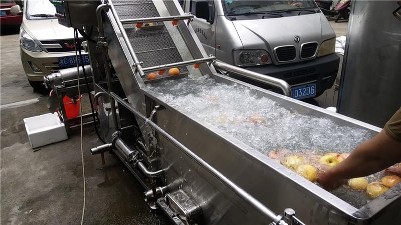 果蔬清洗机清蟘hui姆秝ei和机qi的特xing